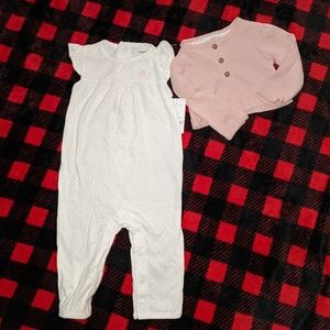 Brand New with tags baby girls outfit.